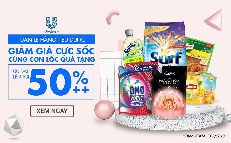 UNILEVER SALEOFF 50%